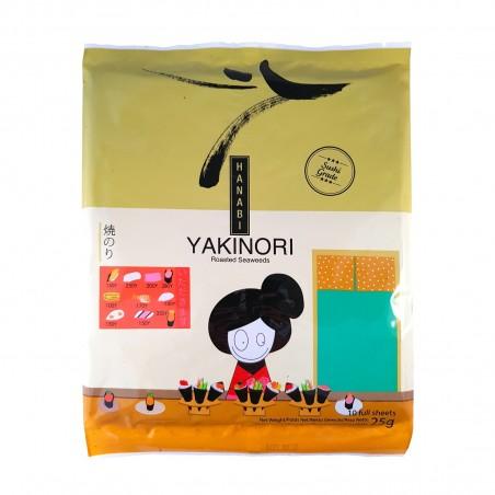 Alga nori yakinori hanabi - 25 gr Foodex TJW-38727873 - www.domechan.com - Prodotti Alimentari Giapponesi