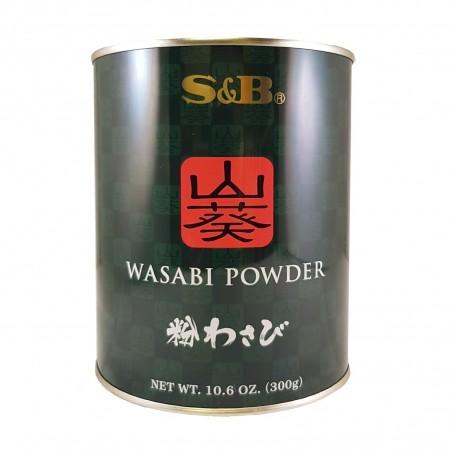 Wasabi powder - 300 g S&B WTU-22053708 - www.domechan.com - Japanese Food