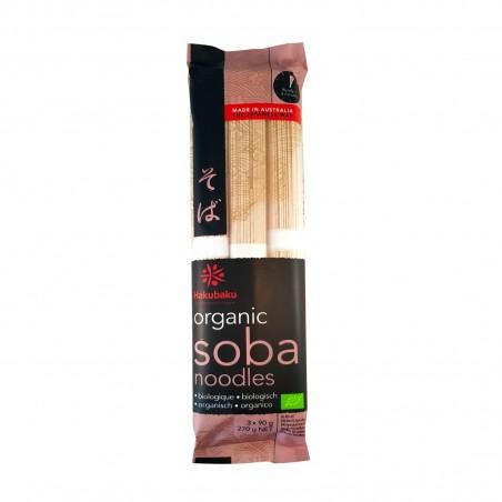 Noodle soba organic hakubaku - 270 g Hakubaku RXF-69684544 - www.domechan.com - Japanese Food