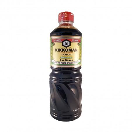 Sojasauce tamari glutenfrei - 1 l Kikkoman GGW-90088889 - www.domechan.com - Japanisches Essen