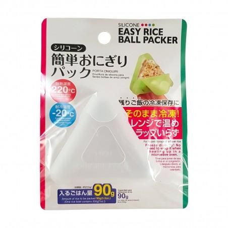 Stampo per onigiri in silicone colori assortiti - 90 g Daiso VPQ-59977726 - www.domechan.com - Prodotti Alimentari Giapponesi