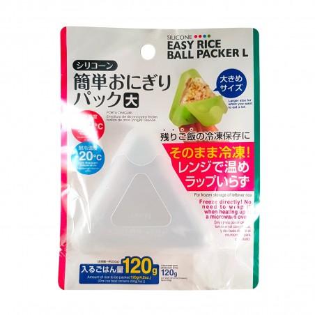 Form für onigiri aus silikon farbig sortiert - 120 g Daiso VQW-24975974 - www.domechan.com - Japanisches Essen