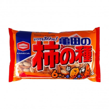 Kakino Tane rice crackers with peanuts - 210 gr Kameda DLW-39338346 - www.domechan.com - Japanese Food