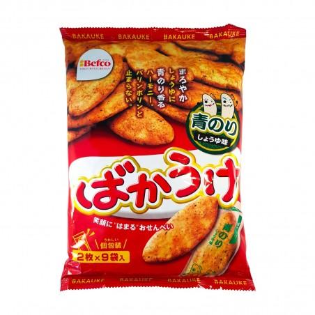Kuriyama beika galletas de arroz, con salsa de soja y algas marinas - 56 g Kuriyama Beika RCW-89638829 - www.domechan.com - C...
