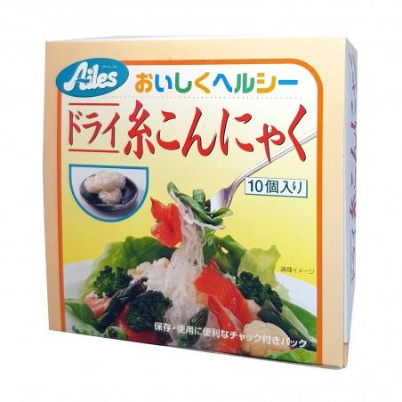 Shirataki noodles, konjac dry - 250 g Ailes AEY-34624634 - www.domechan.com - Japanese Food