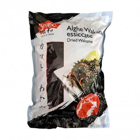 Alga wakame essiccate dried wakame - 500 gr Qingdao Youqing VWW-52663592 - www.domechan.com - Prodotti Alimentari Giapponesi