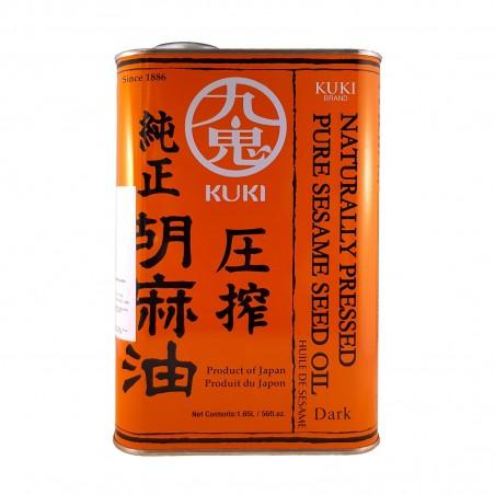 Sesame oil-pure dark - 1,65 l Kuki WBW-98795892 - www.domechan.com - Japanese Food