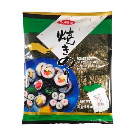 Alga nori - 25 gr Wang Globalnet QRZ-78854970 - www.domechan.com - Prodotti Alimentari Giapponesi