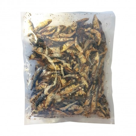 Wadakyu niboshi sardines and anchovies-smoked dried - 1 Kg JFC KOW-50454997 - www.domechan.com - Japanese Food