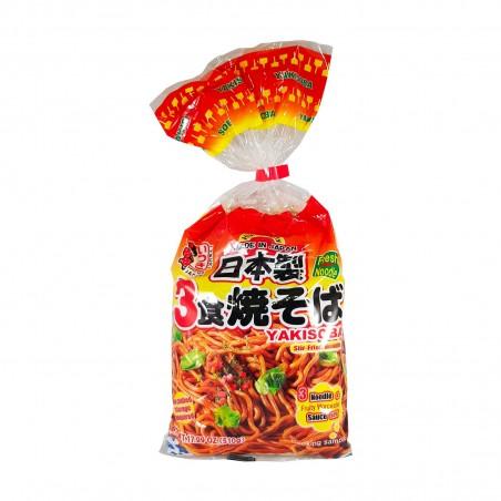 Yakisoba noodle - 3 porzioni - 510 gr Itsuki DWY-66948464 - www.domechan.com - Prodotti Alimentari Giapponesi