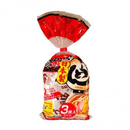 Udon con zuppa - 3 porzioni - 630 gr Itsuki FDW-59497935 - www.domechan.com - Prodotti Alimentari Giapponesi