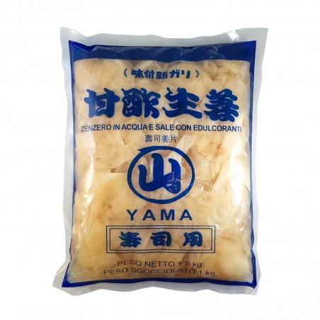 Gingembre mariné - 1,5 kg Yama products DEW-98884954 - www.domechan.com - Nourriture japonaise