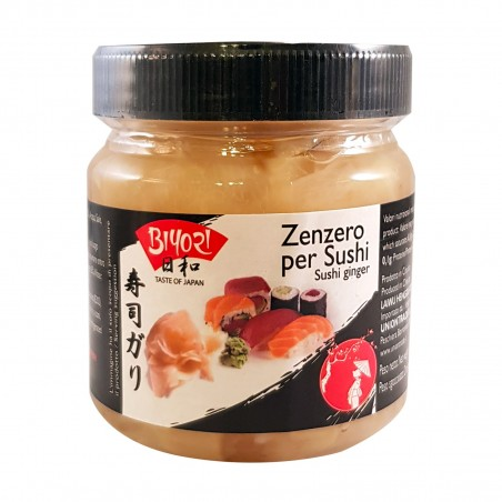 Zenzero in salamoia - 190 g Biyori PGW-37893236 - www.domechan.com - Prodotti Alimentari Giapponesi