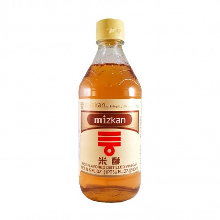 Rice vinegar komezu - 500 ml Mizkan BYW-73757442 - www.domechan.com - Japanese Food