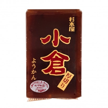 羊羹小倉(あめのかごやまのみことあん)-150gr Sugimotoya AZZ-97956586 - www.domechan.com - Nipponshoku