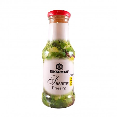 Salsa dressing al sesamo - 250 ml Kikkoman DDY-43654259 - www.domechan.com - Prodotti Alimentari Giapponesi