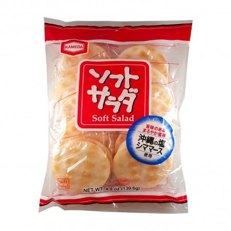 クラッカーソフトサラダ - 139.6 gr Kameda DKW-42869335 - www.domechan.com - Nipponshoku
