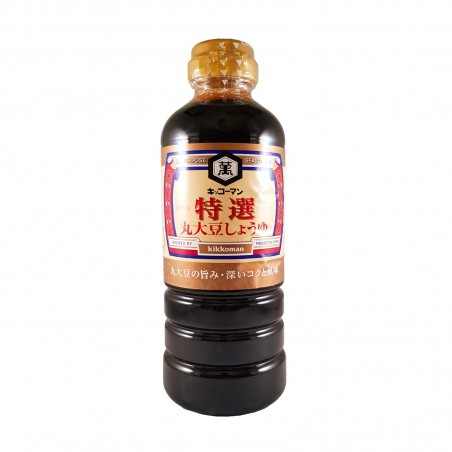 La sauce de soja tokusen marudaizu - 500 ml Kikkoman CAY-97683858 - www.domechan.com - Nourriture japonaise