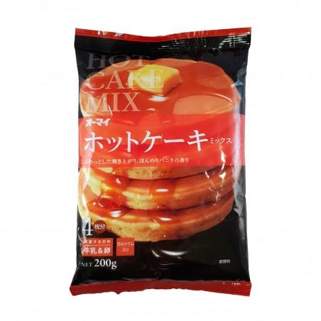 Japanese pancake flour - 200 gr Nippon Shokken EDW-29642368 - www.domechan.com - Japanese Food