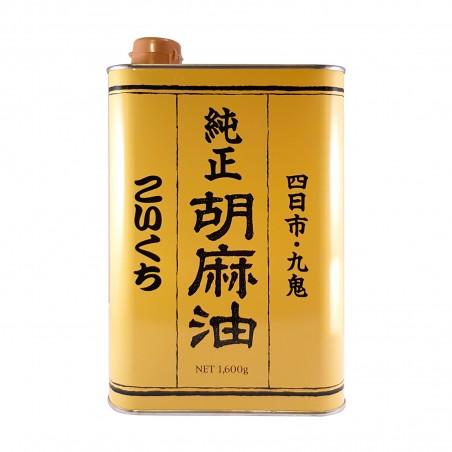 Olio di sesamo puro - 1,6 kg Kuki DMY-56878928 - www.domechan.com - Prodotti Alimentari Giapponesi