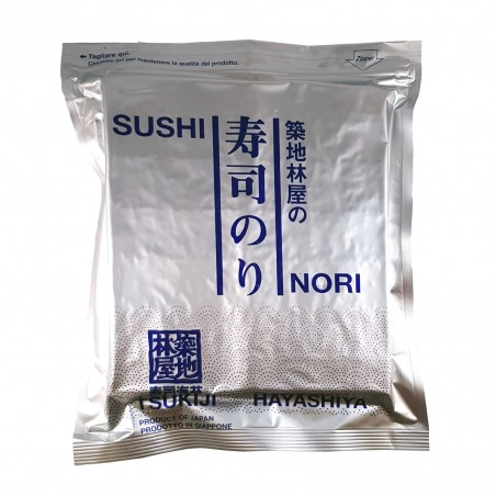 Alga nori qualità normale (C) - 140 g Hayashiya Nori Ten ASW-43883253 - www.domechan.com - Prodotti Alimentari Giapponesi