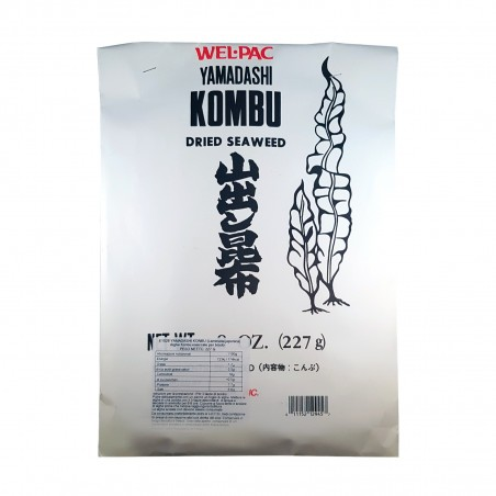 Kombu algen - 227 gr Yamadashi CFY-72923282 - www.domechan.com - Japanisches Essen