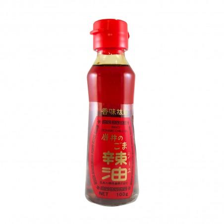 El aceite de sésamo, chile, especias Yu - 100 ml Iwai CBY-77996829 - www.domechan.com - Comida japonesa