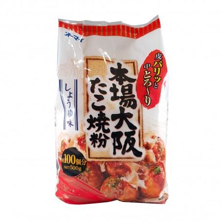 Mehl für die takoyaki - 400 gr Ohmai BUW-57377337 - www.domechan.com - Japanisches Essen