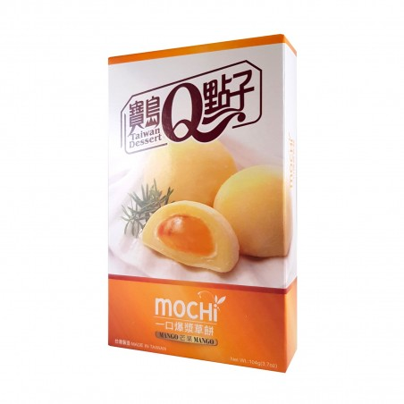 Mochi al mango - 104 gr Taiwan mochi museum LEY-26883826 - www.domechan.com - Prodotti Alimentari Giapponesi