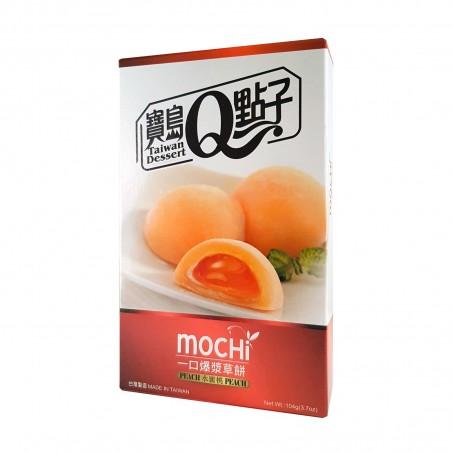 Mochi alla pesca - 104 gr Taiwan mochi museum LEW-45953354 - www.domechan.com - Prodotti Alimentari Giapponesi