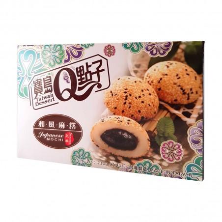 Mochi sesame - 210 gr World-wide co UDW-29565644 - www.domechan.com - Japanese Food