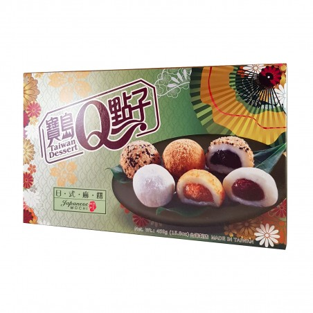 Verschiedene Mochi 3 Sorten - 450 gr Taiwan mochi museum FSW-32439692 - www.domechan.com - Japanisches Essen