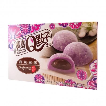 Mochi ube alla patata dolce viola - 210 gr Taiwan mochi museum WUW-45492849 - www.domechan.com - Prodotti Alimentari Giapponesi