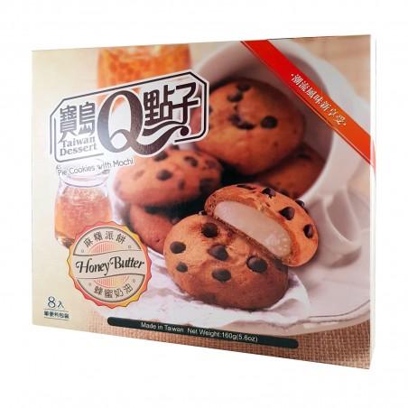 Biscotti con mochi al gusto burro e miele - 160 gr Royal Family WYW-26687272 - www.domechan.com - Prodotti Alimentari Giapponesi