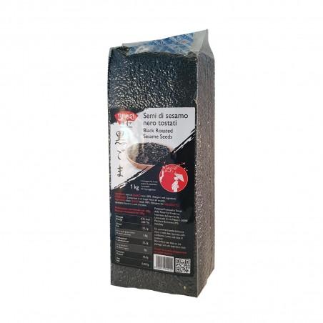 Black sesame seeds - 1 kg Biyori XCW-48385436 - www.domechan.com - Japanese Food