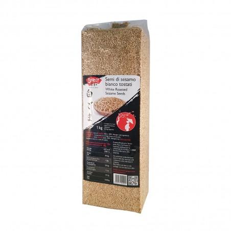 Sesamo bianco - 1 kg Biyori XBY-27466886 - www.domechan.com - Prodotti Alimentari Giapponesi