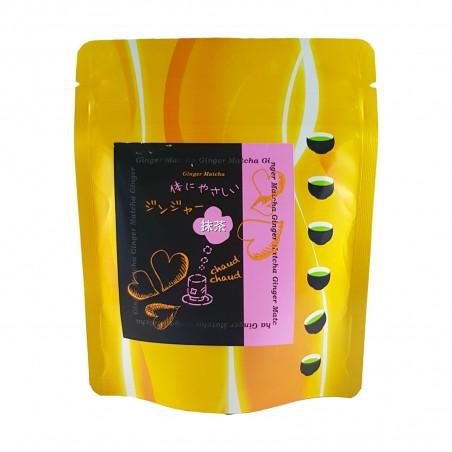 Tea matcha and ginger - 40 g Sasu XFW-47794825 - www.domechan.com - Japanese Food