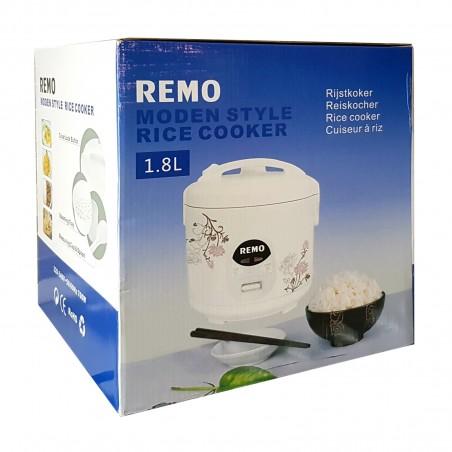 Cuociriso elettrica - 1,8 L Remo HQY-39097982 - www.domechan.com - Prodotti Alimentari Giapponesi