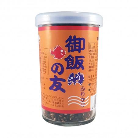 Furikake a base di foglie di shiso e prugne ume - 60 g Futaba XKY-89967459 - www.domechan.com - Prodotti Alimentari Giapponesi