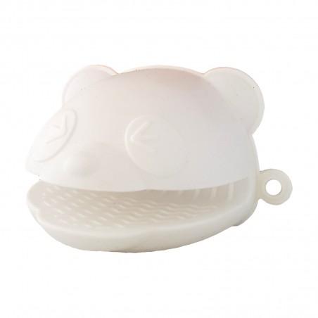 Potholders in silicone - panda Daiso VMX-69522448 - www.domechan.com - Japanese Food