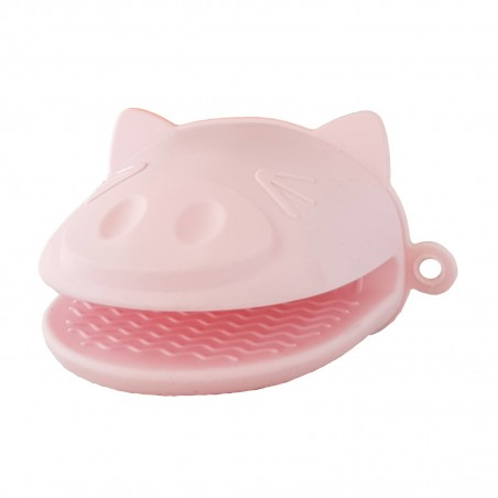 Potholders in silicone - pig Daiso VLW-79532973 - www.domechan.com - Japanese Food