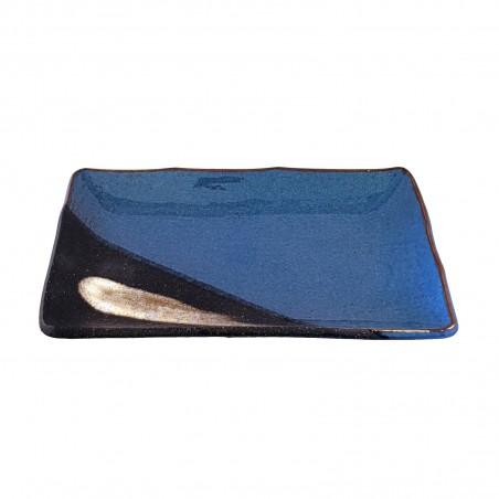 Keramik-platte rechteckig, modell sky, 21 cm x 13 cm Domechan XQY-37722295 - www.domechan.com - Japanisches Essen