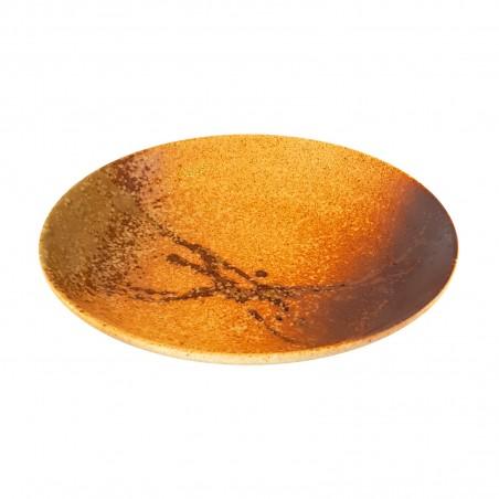Piatto in ceramica modello scratch - 22 cm Domechan XNY-39287382 - www.domechan.com - Prodotti Alimentari Giapponesi