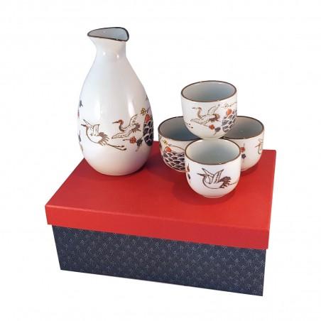 Set sake herons - 4 people Uniontrade YHY-35563947 - www.domechan.com - Japanese Food