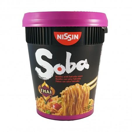 Nissin Yakisoba geschmack thai - 87 g Nissin YBY-49238725 - www.domechan.com - Japanisches Essen