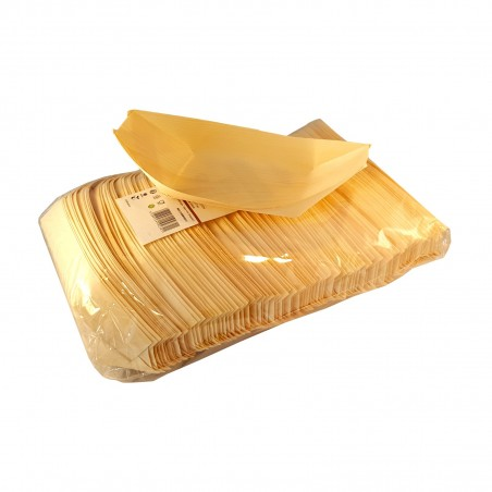 Barchette di legno medie - 100 pz Domechan HMP-76842534 - www.domechan.com - Prodotti Alimentari Giapponesi