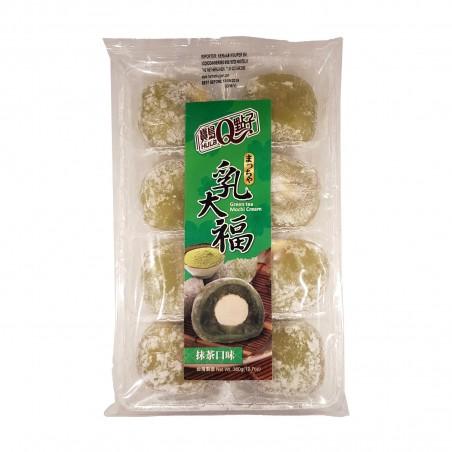 Mochi al tè verde con crema la tè verde - 360 g Royal Family CEX-87451259 - www.domechan.com - Prodotti Alimentari Giapponesi