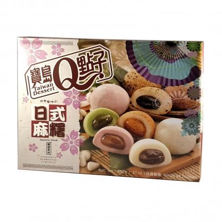 Mochi assorted 5 varieties - 600 g Taiwan mochi museum YHY-78627583 - www.domechan.com - Japanese Food