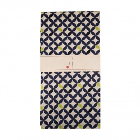 Furoshiki - Type rombi bianchi (54x54 cm) Domechan YNY-74984837 - www.domechan.com - Prodotti Alimentari Giapponesi