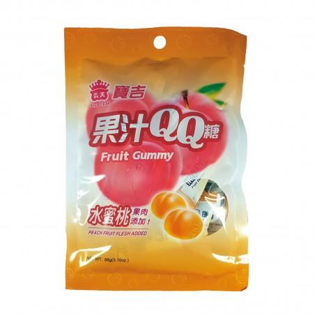 Caramelle al gusto pesca - 88 g Imei YKY-88935855 - www.domechan.com - Prodotti Alimentari Giapponesi